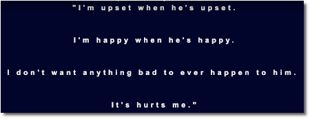 Selena is upset when Justin is upset