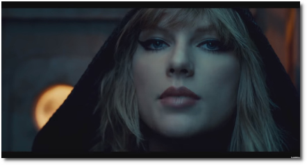 Taylor Swift ...Ready For It savage look (26 Oct 2017)