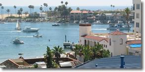 Entrance to Newport Harbor | Newport Beach, California