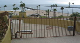 Main Beach (Big Corona) viewed from 2901 East Shore Ave - Fire-ring removal, CdM