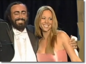 The glow of love | Mariah Carey & Pavarotti