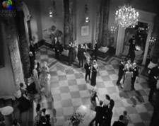 Famous scene from Hitchcock's film 'Notorious'