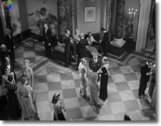 Famous scene form Hitchcock's film 'Notorious'