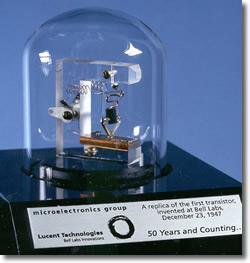 First transistor (1947)