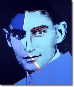 Kafka (1883-1924) by Warhol