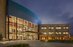 The Moores Cancer Center in La Jolla