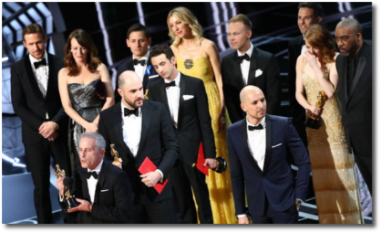 Best Picture fiasco at the 2017 Oscars on Feb 26 in Los Angeles