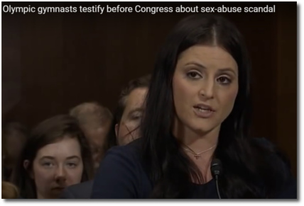 Olympian Dominique Moceanu testifies before Congress