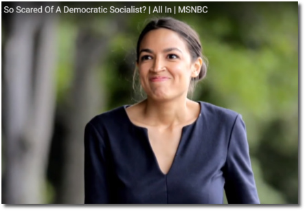 Alexandria Ocasio-Cortez putting the fear of God into the older generation