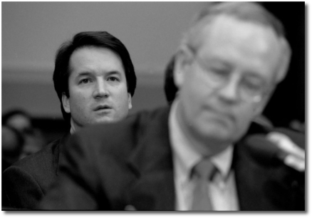 Ken Starr at House Judiciary Committee hearing on Bill Clinton (1998)