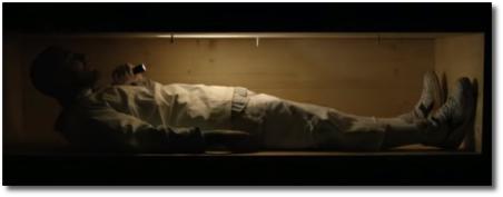 Mac Miller lying in a coffin Self Care (12 July 2018)